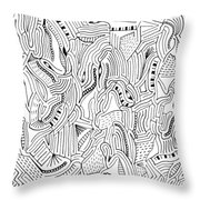 The Piano Throw Pillow