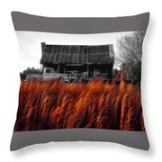 The Pick-up Truck Throw Pillow