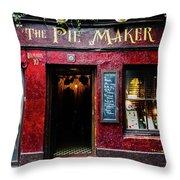 The Pie Maker Throw Pillow