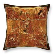 The Pieces Throw Pillow