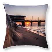 The Pier 2 Throw Pillow by Kim Loftis