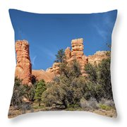 The Pillars Throw Pillow