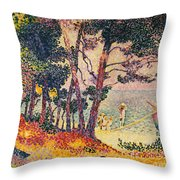 The Pine Wood, Provence Throw Pillow