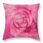 The Pink Lady 5 Throw Pillow