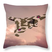 The Pink Lady Throw Pillow
