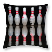 The Pins Throw Pillow