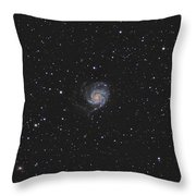 The Pinwheel Galaxy Throw Pillow