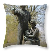 The Pioneers  Throw Pillow