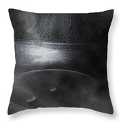 The Pit Throw Pillow by Mimulux patricia no No