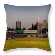 The Pitch Throw Pillow
