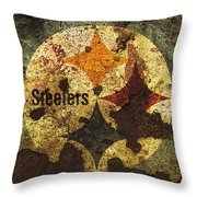 The Pittsburgh Steelers R1 Throw Pillow