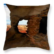 The Place Of The Old Ones Throw Pillow