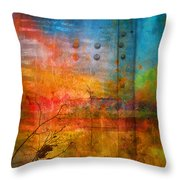 The Places I Have Never Been Throw Pillow
