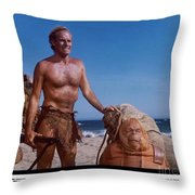 The Planet Of The Apes 1968 Throw Pillow