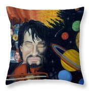 The Planets Suite Throw Pillow