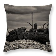 The Plassey Throw Pillow