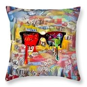 The Plasticity Of Dreams Throw Pillow