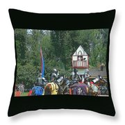 The Players Throw Pillow