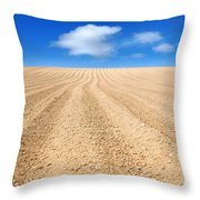 The Ploughed Field 2 Throw Pillow