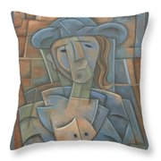 The Poet Throw Pillow