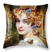 The Poets Lover Throw Pillow