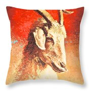 The Politician Throw Pillow