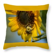 The Pollenator Throw Pillow