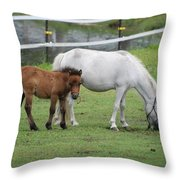The Ponys Throw Pillow