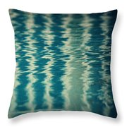 The Pool Party Throw Pillow