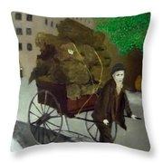 The Poor Man's Burden Throw Pillow