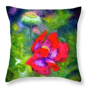 The Poppie Calls Throw Pillow