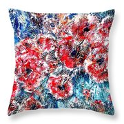 The Poppies Throw Pillow