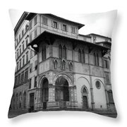 The Porch Of The Innocents Throw Pillow