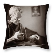 The Potter Of Haweryvschyna Throw Pillow