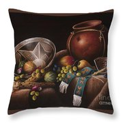 The Potter's Harvest Throw Pillow