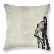 The Power Of A Kiss Throw Pillow