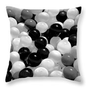 Power Balls Throw Pillow
