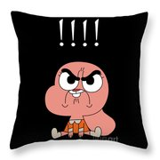 The Power Of Cute Sister Anais 2 Throw Pillow