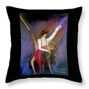 The Power Of Dance Throw Pillow
