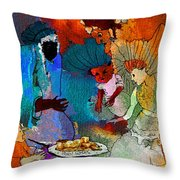The Power Of Gold Throw Pillow