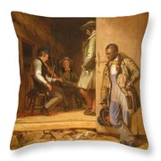 The Power Of Music, 1847 Throw Pillow