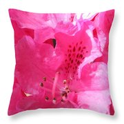 The Power Of Pink Throw Pillow