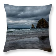 The Power Of The Sea Throw Pillow