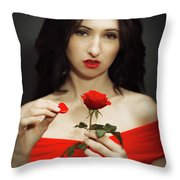 The Power Of Touch Throw Pillow