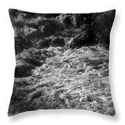 The Power Of Water Throw Pillow