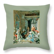 The Prayer Of The Faithful Throw Pillow