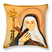 The Prayers Of The Righteous Throw Pillow