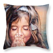 A Wish Throw Pillow