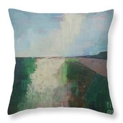 The Present Day Throw Pillow