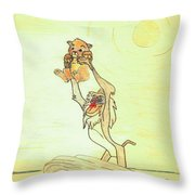 The Presentation Of Simba From Walt Disney's The Lion King Throw Pillow